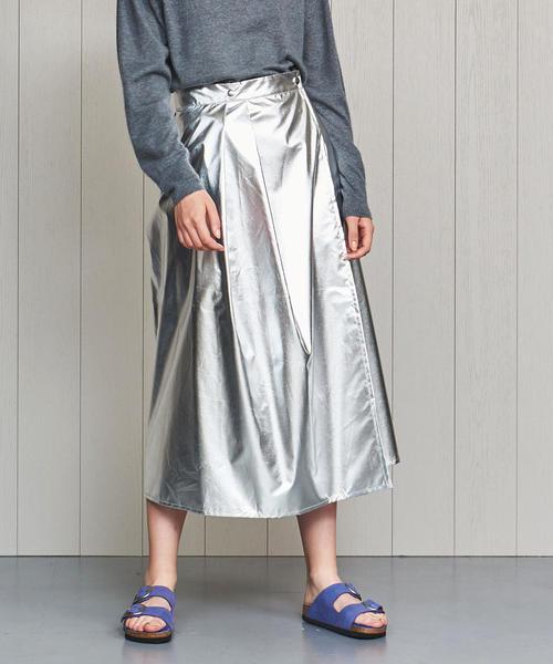 お歳暮 【セール】<H>MIRROR MOTIF WRAP SKIRT/スカート(スカート) MOTIF WRAP セール,SALE,H|H BEAUTY&YOUTH UNITED ARROWS(エイチビューティー&ユースユナイテッドアローズ)のファッション通販, アシガワムラ:190552e8 --- 5613dcaibao.eu.org