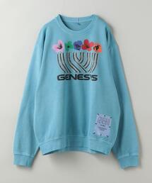 GENESIS II by MCQ(エムシーキュー)RELAXED SWEATSHIRT