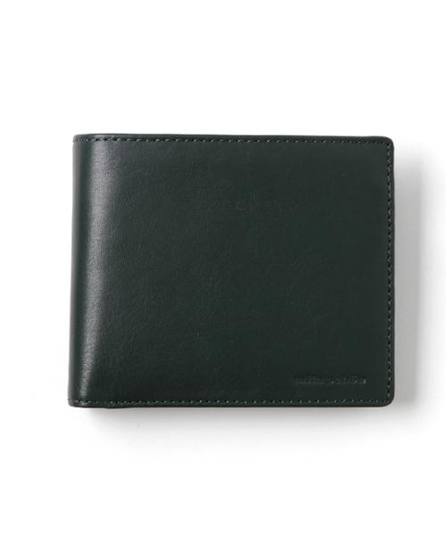 mila schon(ミラ·ショーン)CALF LEATHER 二つ折り財布