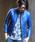 RATTLE TRAP(ラトルトラップ)の「シングルライダースレザージャケット【WEB限定カラー追加】(ライダースジャケット)」|ブルー