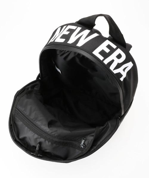 WEB限定 NEW ERA/ニューエラ  LIGHT PACK NEW ERA BLK WHI/ライトパック プリントロゴ ブラック × ホワイト/115566