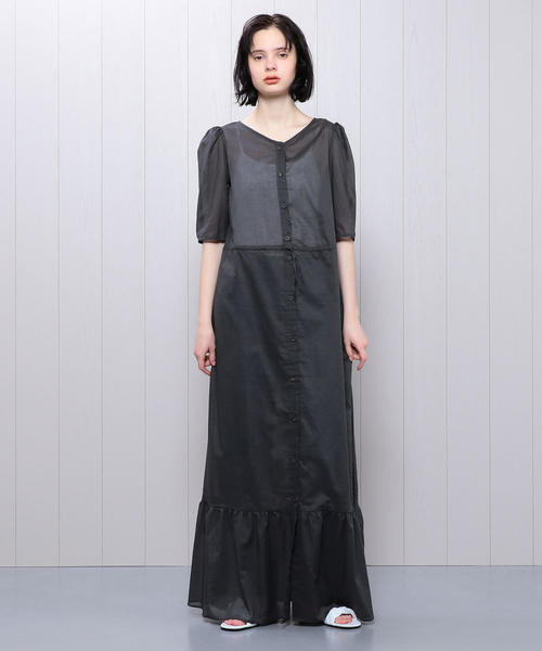 <Penny Sage>VOILE DRESS/ワンピース