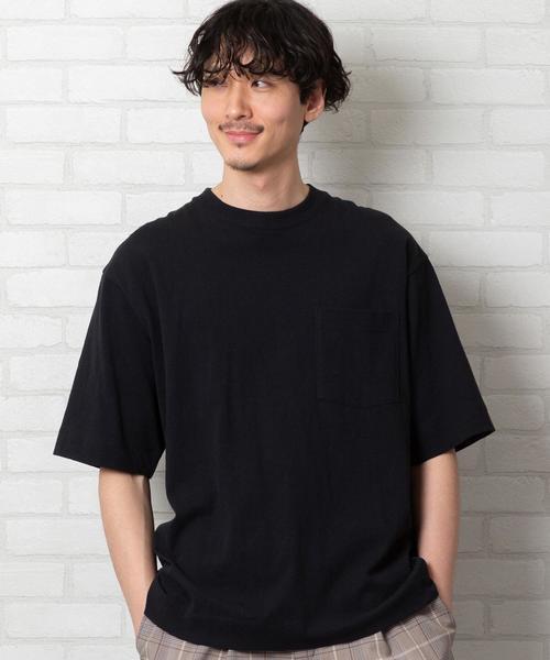 USAコットンヘビーウェイトビッグシルエットポケットTシャツ(一部WEB限定カラー)