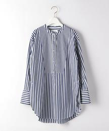 【販売店舗限定】★SACRA(サクラ)スタンドカラーシャツ