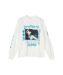 DESTROY ALL MONSTERS/DIARY 1 Tシャツホワイト