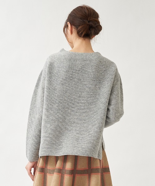 en recre(アンレクレ)の「ボトルネックセーター(ニット/セーター)」|詳細画像