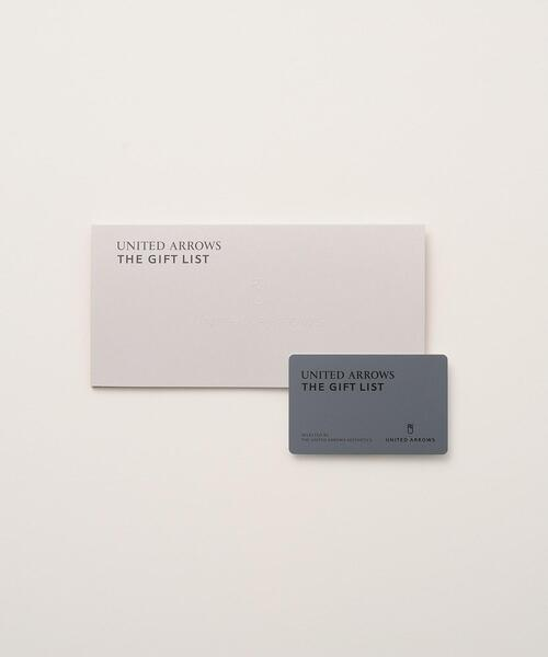<UNITED ARROWS>THE GIFT LIST CARD TYPE_B
