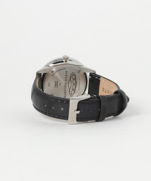 KLASSE14/クラスフォーティーン DISCO VOLANTE Leather 36mm Silver