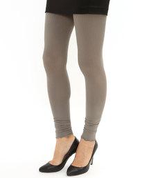 靴下屋(クツシタヤ)の靴下屋/ 2×2リブ 裾メロウレギンス 12分丈(レギンス/スパッツ)