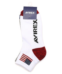 AVIREX(アヴィレックス)のAVIREX/アヴィレックス/ フラッグ ショートソックス/ FLAG SHORT SOCKS(ソックス/靴下)
