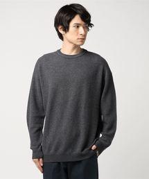 016e182066b26 crepuscule(クレプスキュール)の【crepuscule】クレプスキュール wool waffle crewneck P/