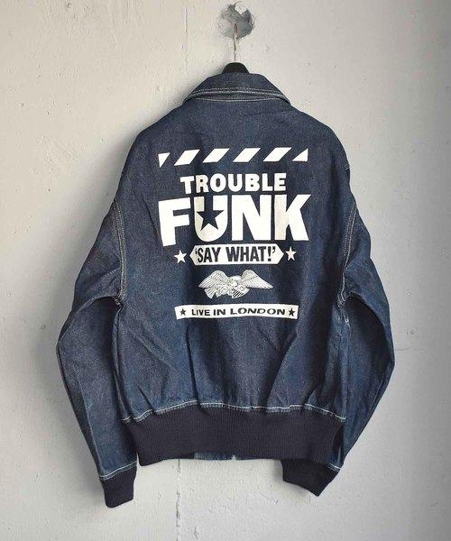 最適な価格 【ヴィンテージ古着 vintage】Trouble Funk フルジップ デニムジャケット(デニムジャケット) Funk|VINTAGE(ヴィンテージ)のファッション通販, キタアキタグン:c8756485 --- fahrservice-fischer.de