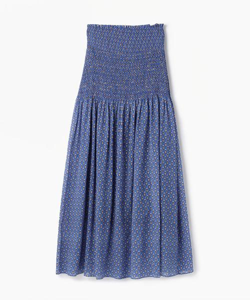 送料無料 キュプラコットンプリント フレアロングスカート(スカート)|SOULEIADO(ソレイアード)のファッション通販, 結婚式パーティードレスのCLARISSA:a84dd01e --- hausundgartentipps.de