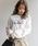 Heather(ヘザー)の「タックイリフォトT 852012(Tシャツ/カットソー)」|ホワイト