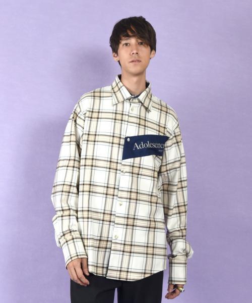 【正規品直輸入】 ADOLESCENCE シャツ(シャツ/ブラウス) MILKBOY(ミルクボーイ)のファッション通販, ショップマリー Shop Marie:aeb13f22 --- skoda-tmn.ru