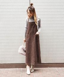 FREE'S MART(フリーズマート)の◆モールチェックジャンパースカート(ジャンパースカート)