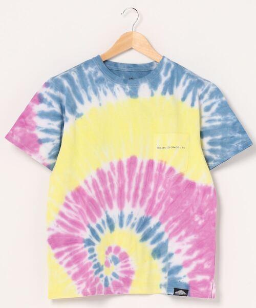 【 Mountain Smith / マウンテンスミス 】2020SS Stocks Tシャツ tyedye Tシャツ タイダイ