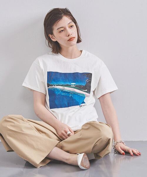 <HIROSHI NAGAI(ヒロシ ナガイ)>A LONG VACATION Tシャツ