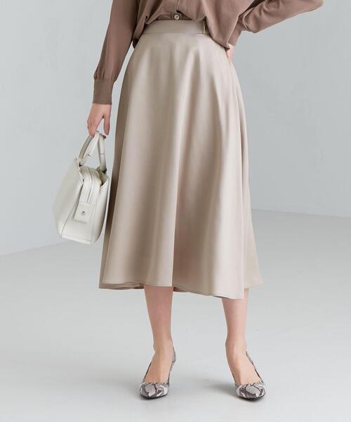 CS パーツ 付き フレア スカート