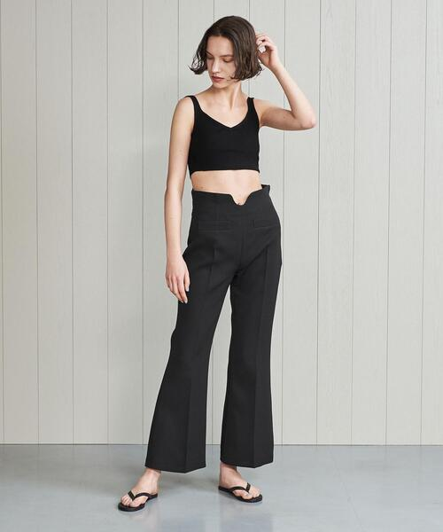 <YOHEI OHNO × H>HIGH WAIST FLARE PANTS/パンツ.
