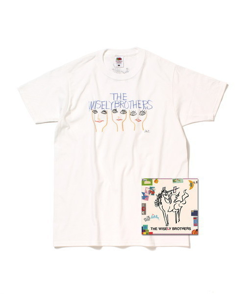 The Wisely Brothers / The Letter 7インチ+Tシャツセット <Lastlum / BEAMS RECORDS>