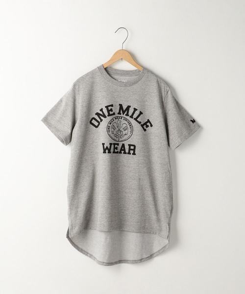【1M】ドライカレッジロゴTシャツ