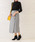 menue(メヌエ)の「選べる 内側ふかふかファータイプ ポインテッドトゥ 5cm ヒール ショートブーツ サイドジップブーツ 裏起毛ブーツ(ブーツ)」|詳細画像