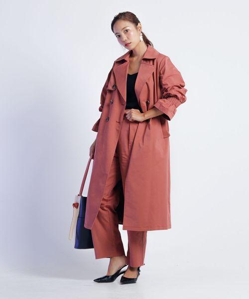 割引 【セール】タックスリーブパイピングトレンチコート(トレンチコート)|LADYMADE(レディメイド)のファッション通販, goldragstation:0c779131 --- blog.buypower.ng