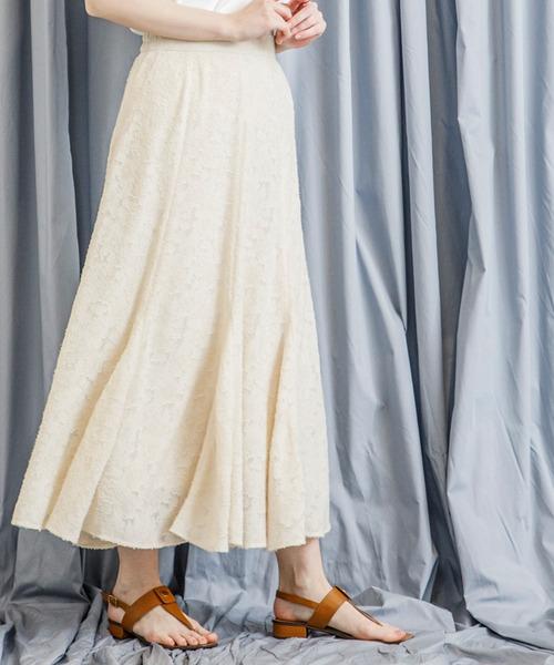 ジャガードマーメイドスカート