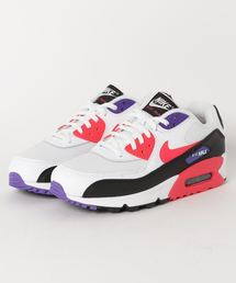 NIKE(ナイキ)のNIKE AIR MAX 90 ESSENTIAL (WHITE/RED ORBIT-PSYCHIC PURPLE-BLACK)【SP】(スニーカー)