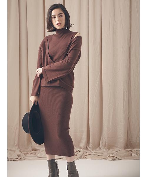 【特価】 アンサンブルRIBニットワンピース(ワンピース)|DRWCYS(ドロシーズ)のファッション通販, コタケマチ:805a4a1d --- 5613dcaibao.eu.org