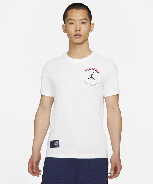 JORDAN BRAND(ジョーダンブランド)の「パリ サンジェルマン ロゴ Tシャツ / NIKE(Tシャツ/カットソー)」