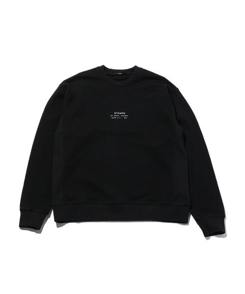 <STAMPD> STACKED LOGO  CN/スウェット