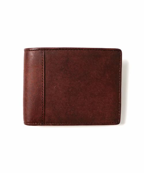 NAUGHTIAM(ノーティアム)オリジナル プエブロレザー 二つ折り財布
