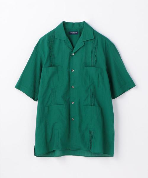 インドコットン キューバシャツ