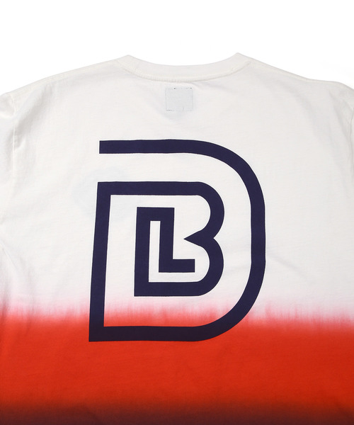 〔BLACK LABEL〕× URBAN UNION DIP DROP TEE:アーバンユニオンコラボ グラデーション Tシャツ