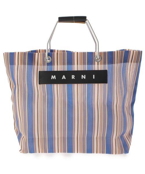 【ギフ_包装】 【ブランド古着】ストライプ柄ハンドバッグ(ハンドバッグ)|MARNI(マルニ)のファッション通販 - USED, Just Goods:58ad4362 --- dpu.kalbarprov.go.id