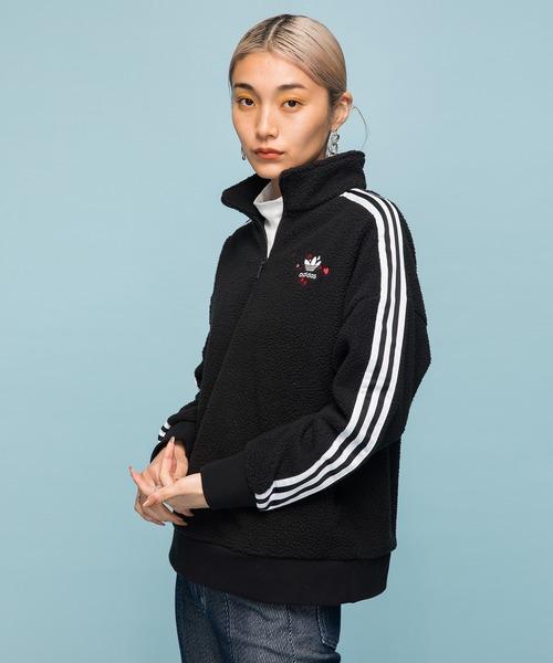 【使い勝手の良い】 ハーフジップ JACKET] スウェット ZIP [HALF [HALF ZIP JACKET] アディダスオリジナルス(ブルゾン)|adidas(アディダス)のファッション通販, アネット汐留:ead21f8a --- wiratourjogja.com