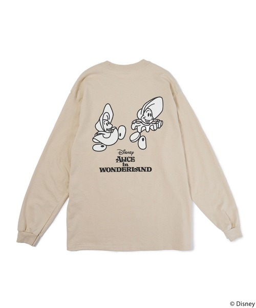 【Disney/ディズニー/ふしぎの国のアリス】ロングTシャツ