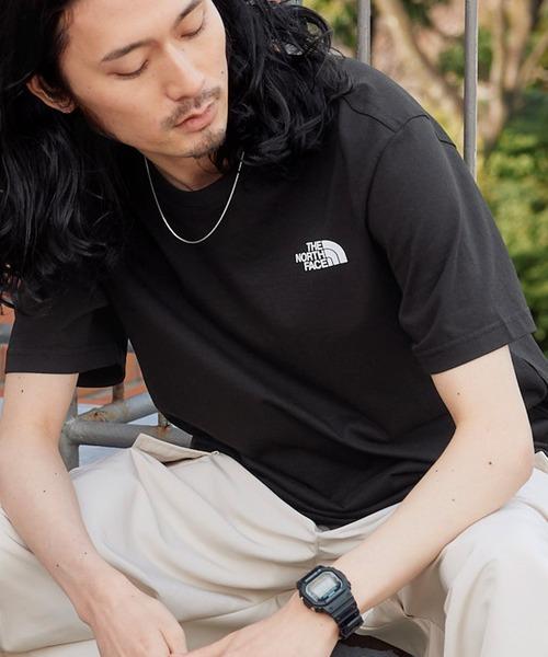 【THE NORTH FACE / ザ・ノース・フェイス】ロゴプリント入り半袖Tシャツ