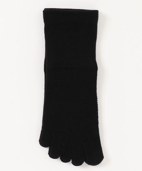 【 warmth / ウォームス 】 締め付けないコットンシルク5本指靴下 WST