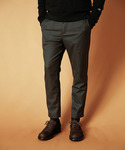 MR.OLIVE | T/R STRETCH SAGE / ANKLE CUT EASY SLACKS(スラックス)