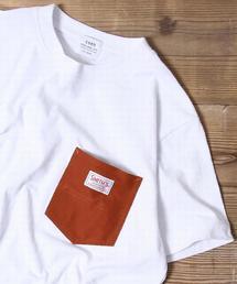 【女性にも人気】SMITH別注ポケットTシャツ(一部WEB限定カラー)