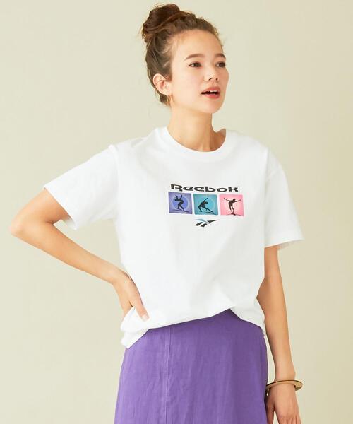 【予約】【別注】<Reebok>グラフィックプリントTシャツ