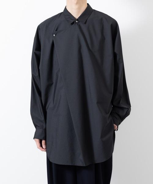 【楽天ランキング1位】 TC BROAD DRAPE SHIRT(シャツ MENS,アトウ/ブラウス) DRAPE BROAD|ato(アトウ)のファッション通販, CLASSIC:767414c6 --- wiratourjogja.com