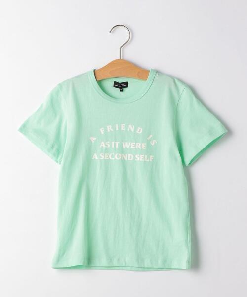 【ジュニア】GirlsロゴプリントTシャツ