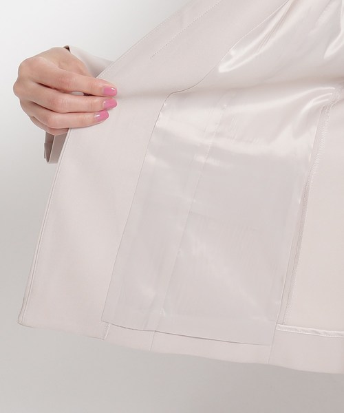 COUP DE CHANCE(クードシャンス)の「【洗える】カラーレスジャケット(ノーカラージャケット)」|詳細画像