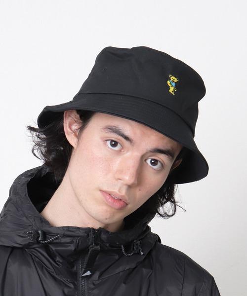 【 GRATEFUL DEAD / グレイトフル デッド 】ツイル バケットハット DYS GD-GD2009 HAT