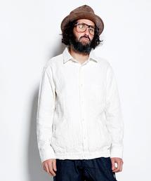 ALDIES(アールディーズ)のUneven Gum Shirt / アンイーブンガムシャツ(シャツ/ブラウス)