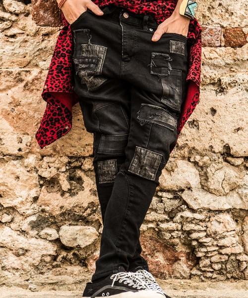 【未使用品】 【ブランド古着】ダメージ加工デニムパンツ(デニムパンツ)|glamb(グラム)のファッション通販 - USED, フクデチョウ:faf410fb --- dpu.kalbarprov.go.id